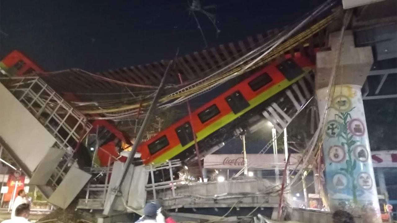 Ebrard asegura que está a la disposición de las autoridades para esclarecer el accidente de la Línea 12