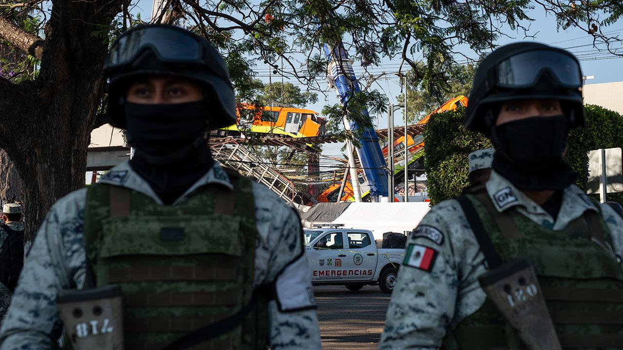 FGJ investiga homicidio y daño en propiedad tras colapso en Línea 12