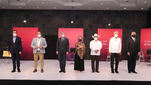 En debate entre candidatos a la gubernatura de Michoacán, sale a relucir Leonel Godoy