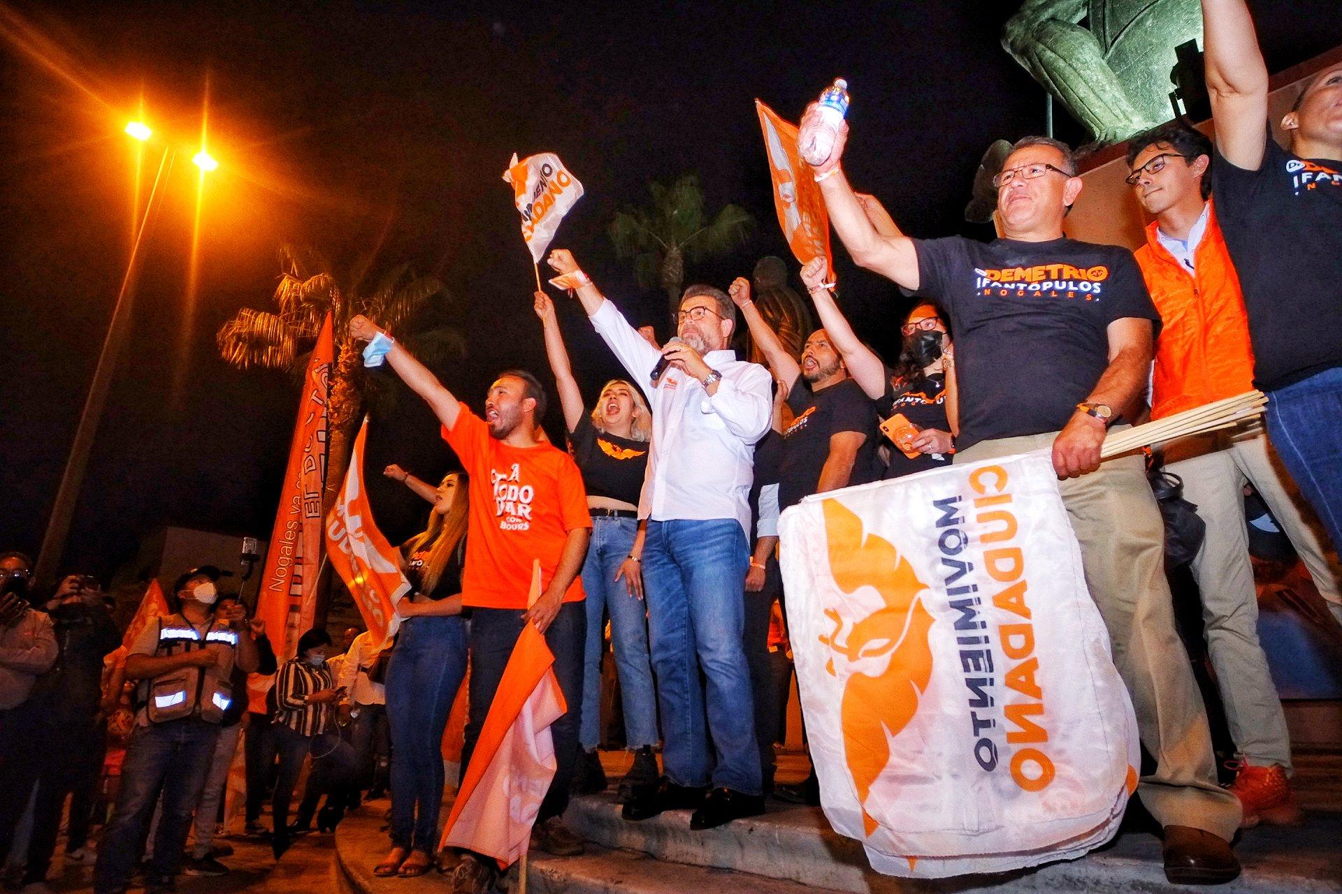Ricardo Bours deja su candidatura de MC, y se une al priista Ernesto Gándara