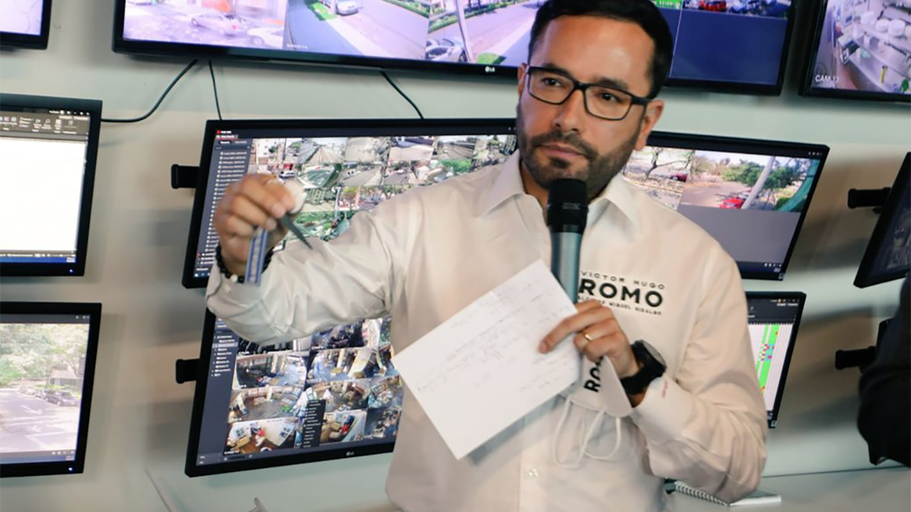 Víctor Romo presenta plan de seguridad 2021-2024 para Miguel Hidalgo