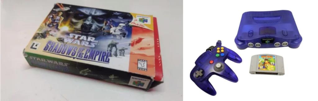 videojuegos Nintendo 64
