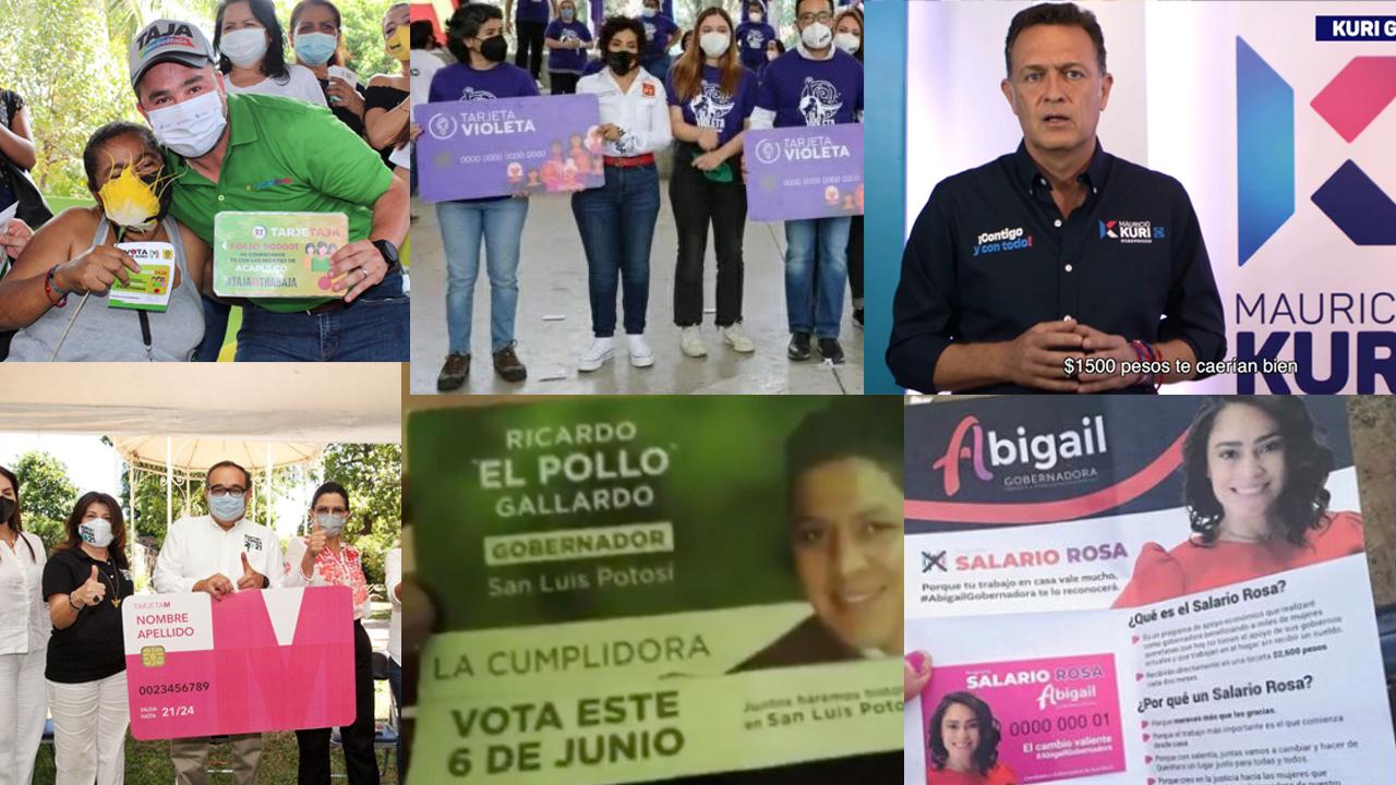 Tarjetas electorales, el gancho para las jefas de familia