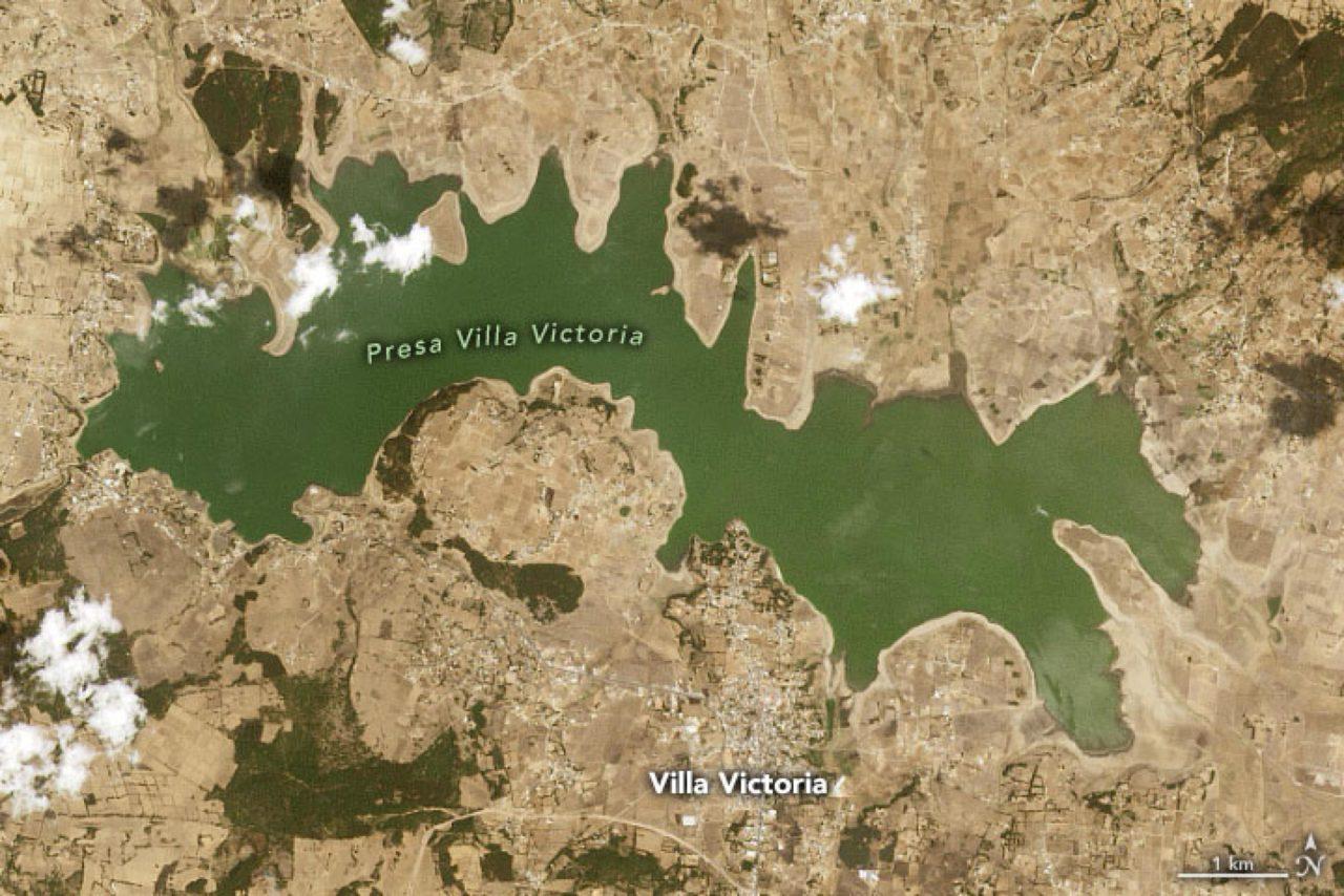 NASA alerta: México vive una de las peores sequías desde 2011
