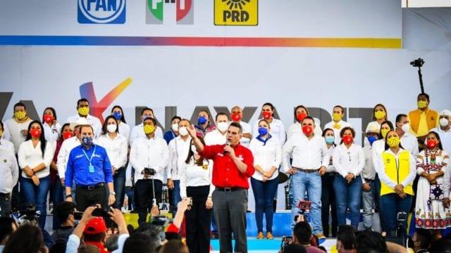 Va por México. Foto: PRI