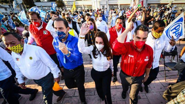 oposicion alianza Va por México PRI PAN PRD