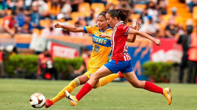 Liga BBVA MX Femenil Guard1anes 2021 Tigres UANL vs Guadalajara Final Vuelta