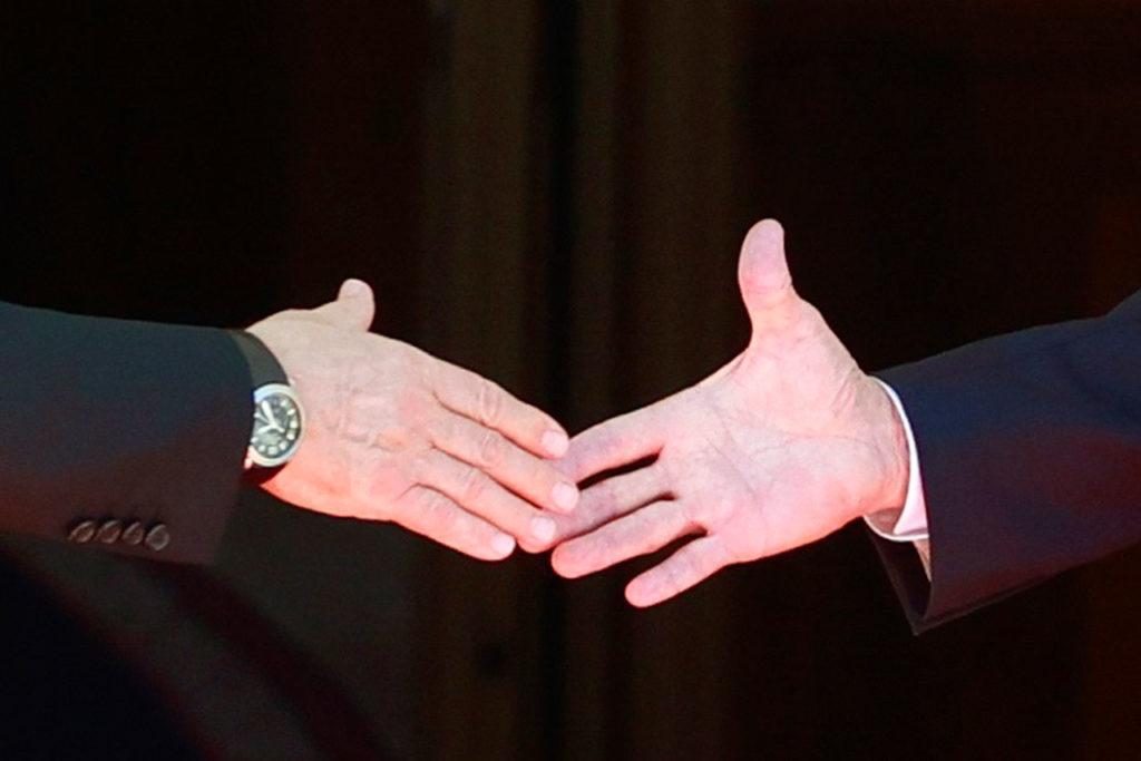 Joe Biden Vladimir Putin US-Russia summit in Geneva