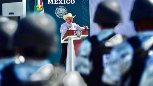 La Guardia Nacional. Foto: Presidencia