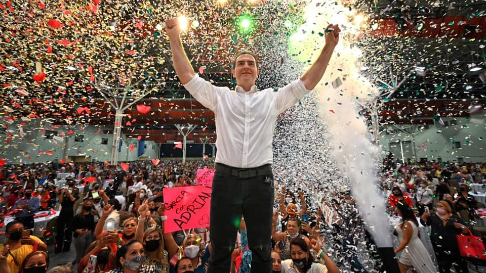 Los resultados electorales en NL no me favorecen: Adrián de la Garza
