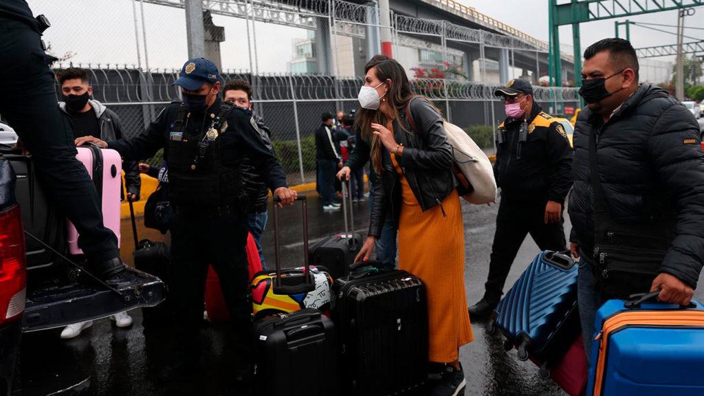 Aeropuerto bloqueo 4