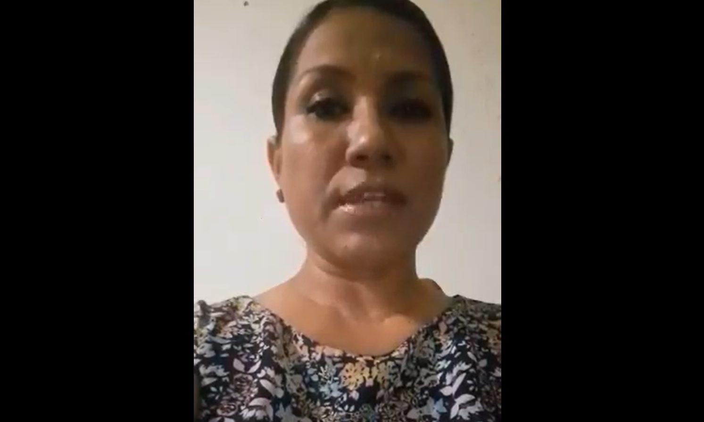 Presunta víctima de Salgado Macedonio pide asilo a Kamala Harris