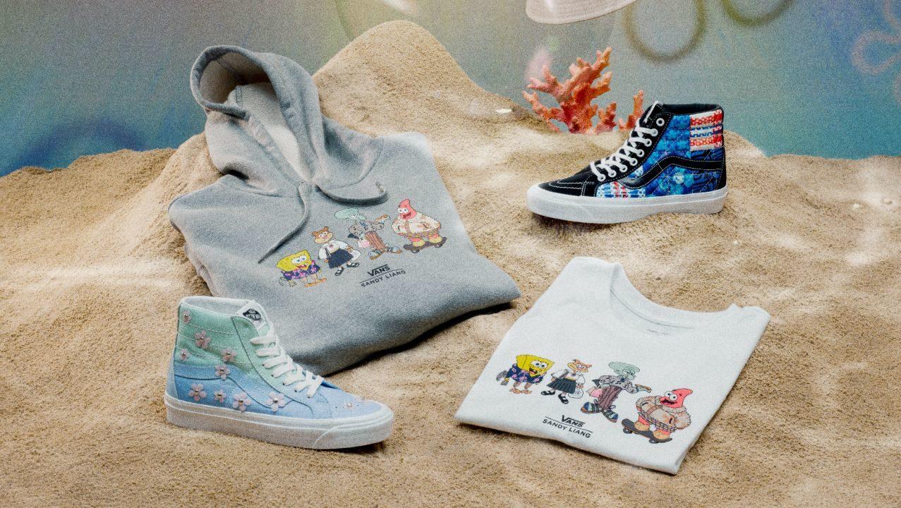 Vans presenta dos sorprendentes y coloridas colecciones de Bob Esponja