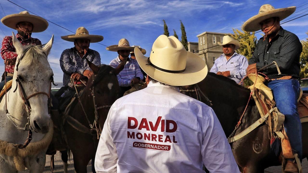 David Monreal dice que ganó por fin en su tercera elección a gobernador de Zacatecas