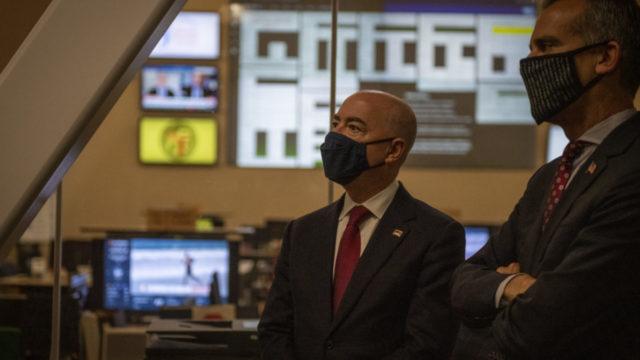 Alejandro Mayorkas, secretario de Seguridad de Estados Unidos. Foto: Gobierno de Estados Unidos.