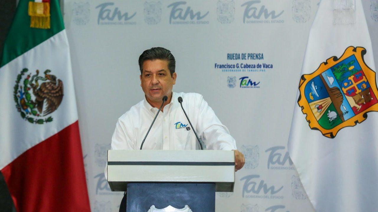Cabeza de Vaca reprocha a Federación inacción ante crimen organizado en Tamaulipas