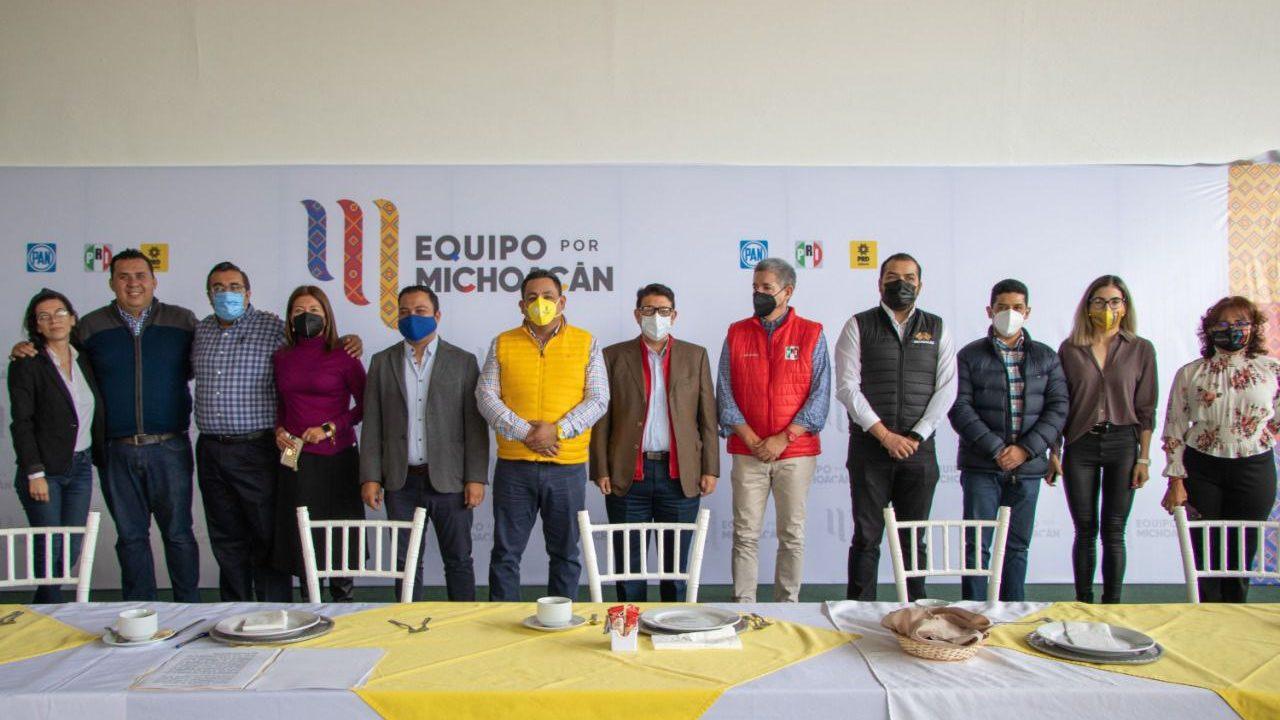 PAN-PRI-PRD impugnan elección por la gubernatura de Michoacán