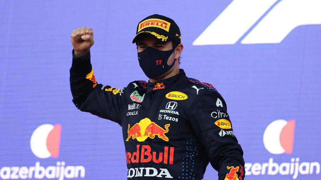 Checo Pérez F1 Grand Prix of Azerbaijan