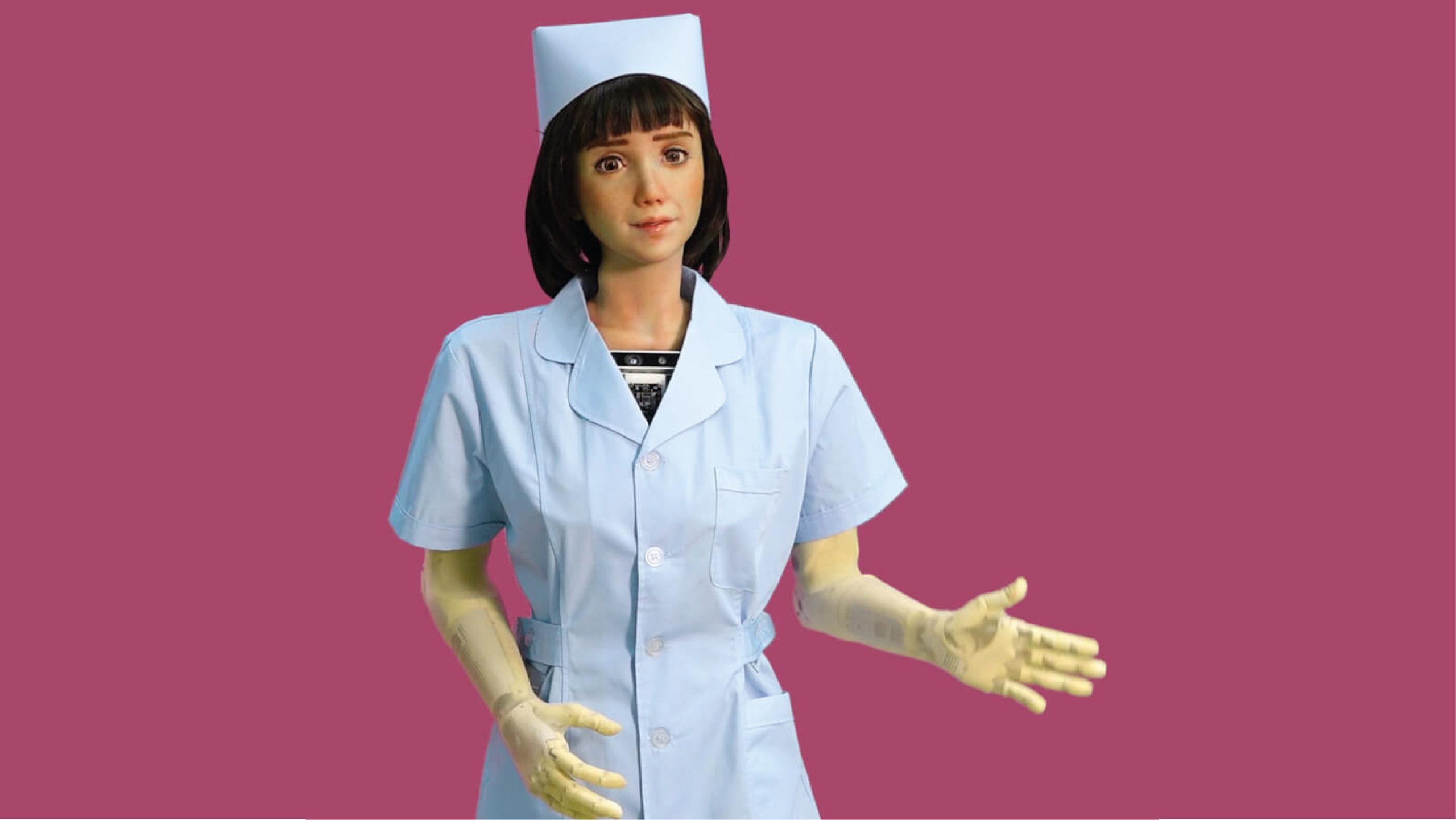 Grace, el primer robot humanoide que cuida a pacientes con Covid-19
