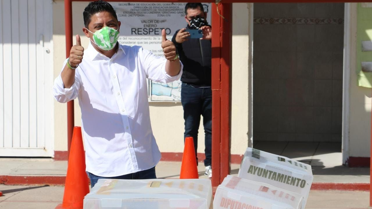 La oposición trató de frenar la votación en San Luis Potosí: Ricardo Gallardo