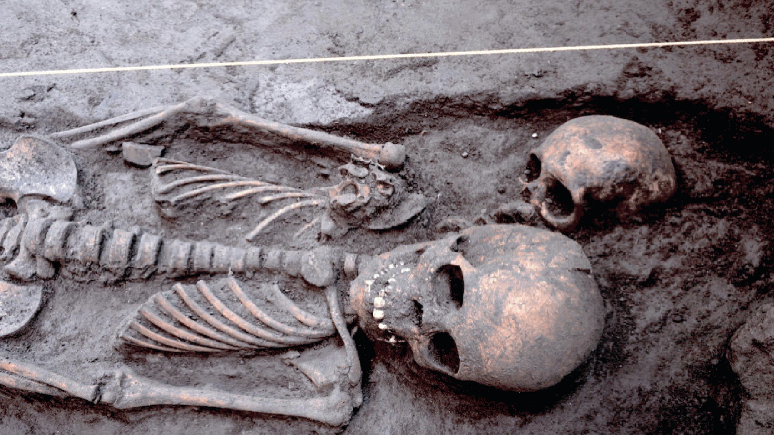 Arqueólogos descubren 17 entierros prehispánicos en  Xochimilco