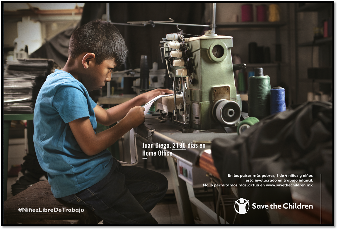 ¿Y la estrategia para combatir el trabajo infantil?
