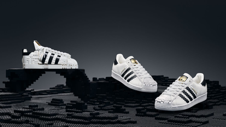 streetwear LEGO Adidas originals superstar