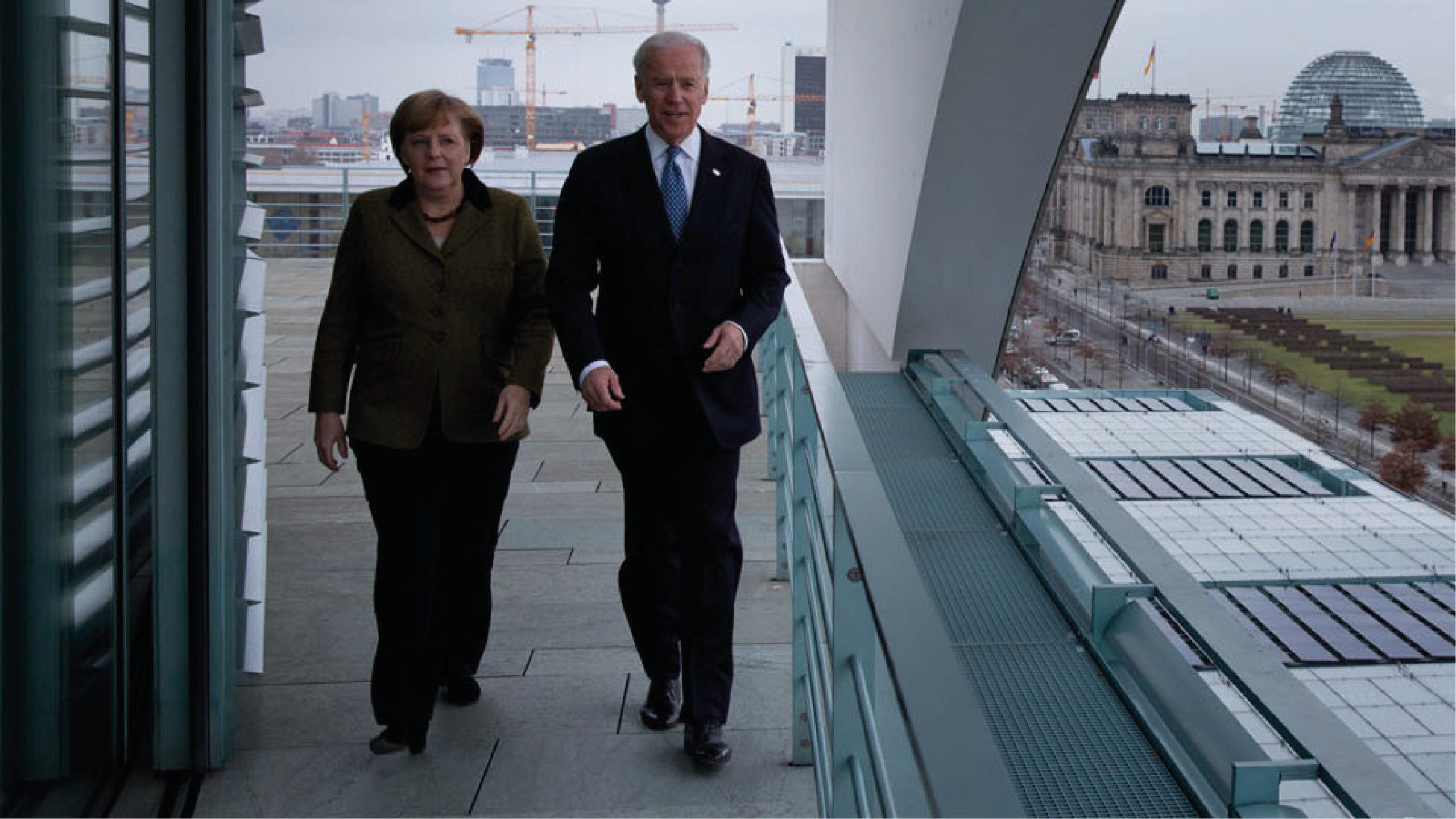 Biden recibe a Merkel con agenda marcada por China y gasoducto Nord Stream 2