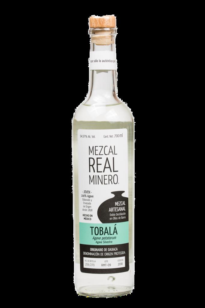 Mezcal real destilado