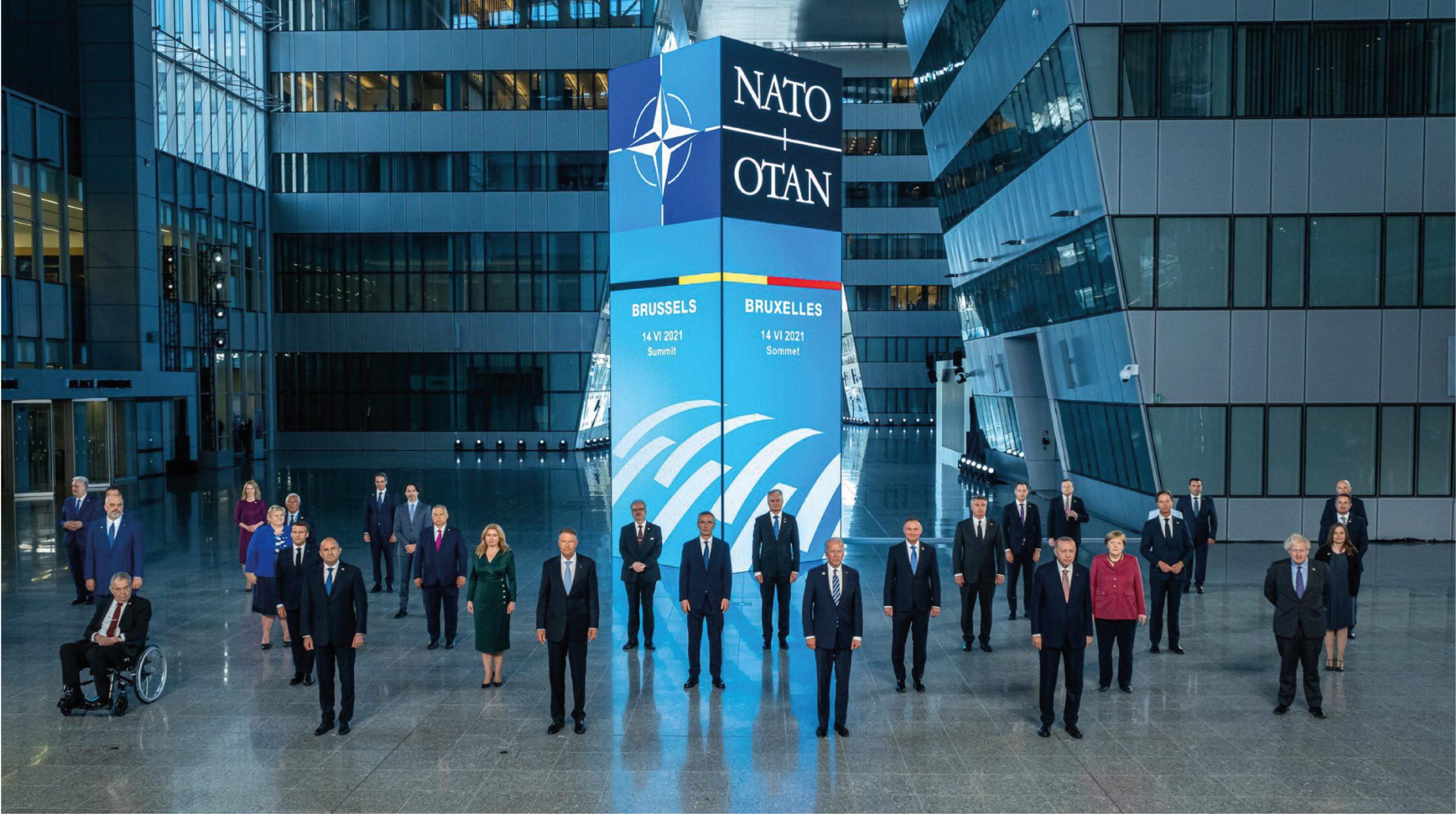 Comienza la cumbre de la OTAN encaminada a la Agenda 2030
