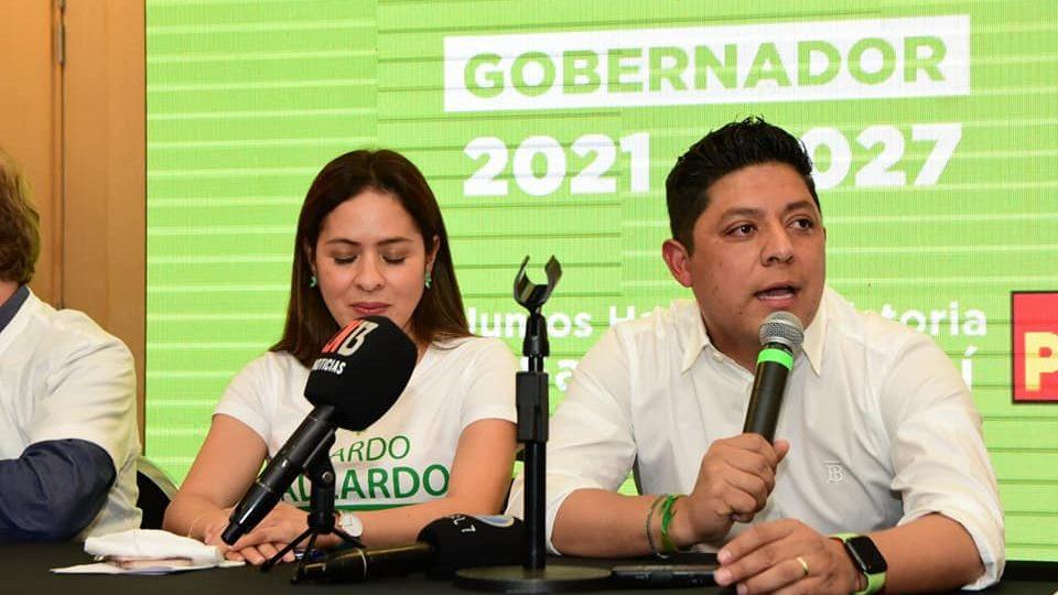 Ricardo Gallardo, virtual ganador de la elección en San Luis Potosí: CEEPAC