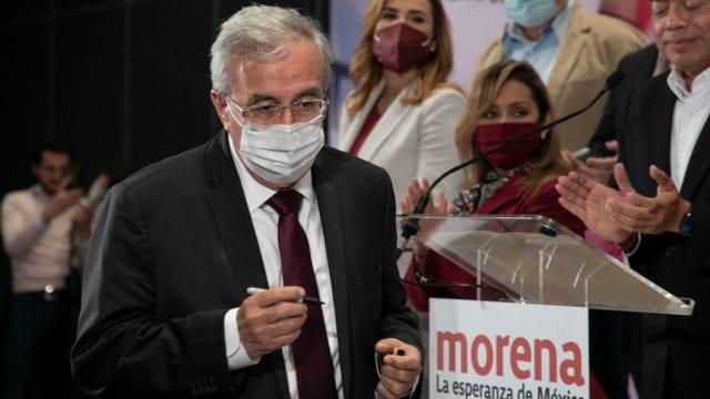 Rubén Rocha gobernador electo de Sinaloa