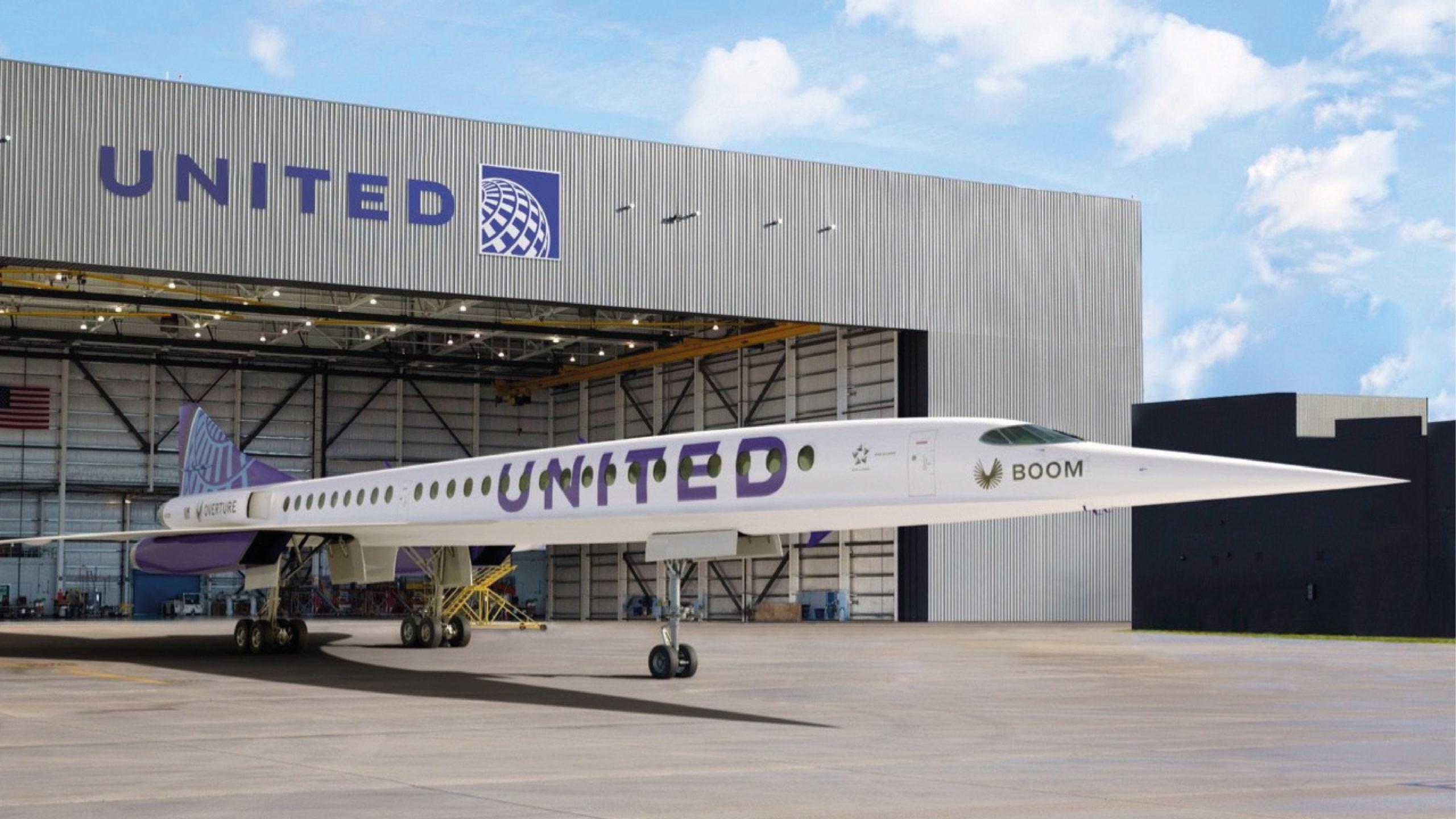 United compra 15 aviones supersónicos que despegarán en 2029