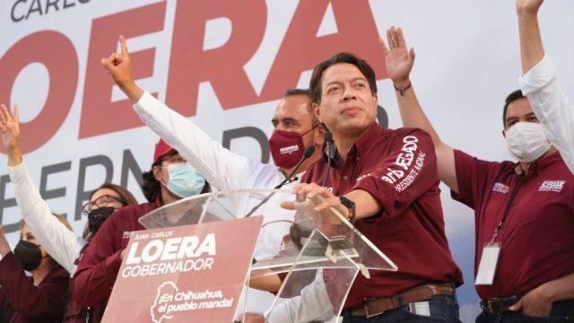 Mario Delgado, dirigente nacional de Morena. Foto: Morena