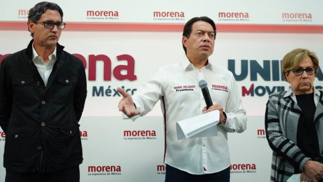 Mario Delgado, líder nacional de Morena. Foto: Morena