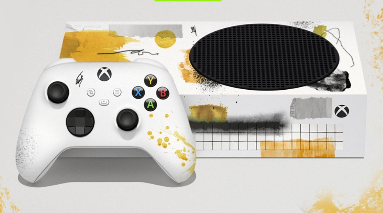 Cuatro artistas mexicanos intervienen Xbox Serie S