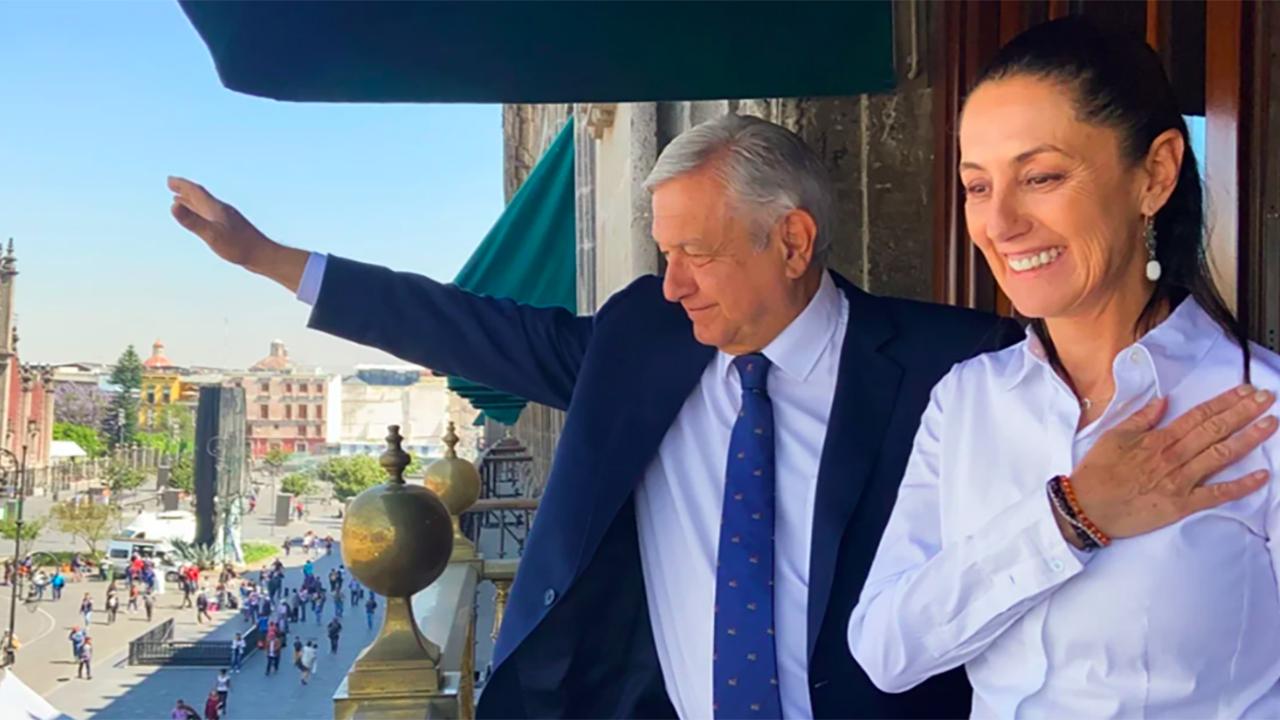 Sheinbaum secunda a AMLO y acusa que hubo una campaña contra Morena