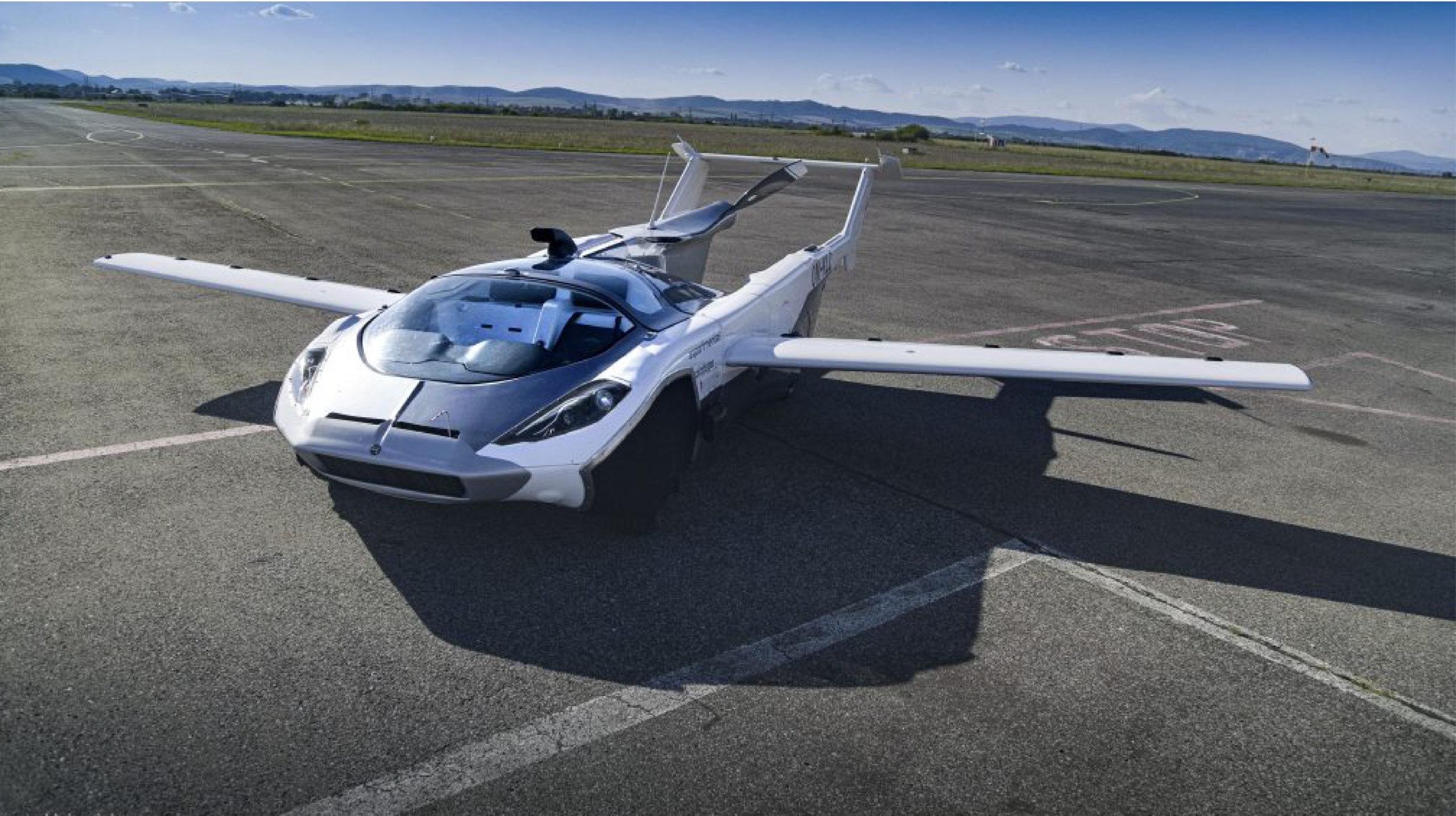 AirCar, un auto con alas, completa sus primeras 40 horas de vuelo