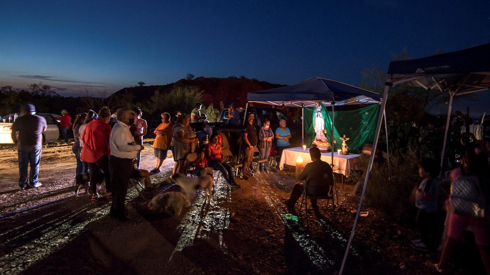 Terminó ya el rescate de cuerpos de los 7 mineros atrapados en Múzquiz: AMLO