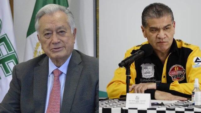 Bartlett y gobernador de Coahuila pelean por caso de derrumbe en mina