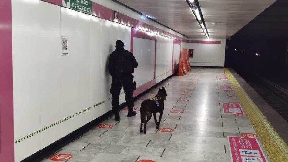 ¿Una bomba en el Metro? Por esta razón cerró una estación de Línea 1