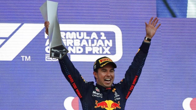'Checo' Pérez gana el Gran Premio de Azerbaiyán