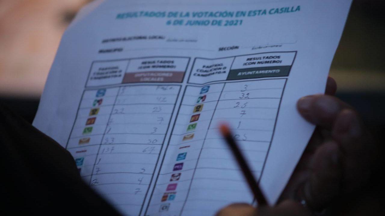 Xochimilco, final de fotografía entre Morena y la alianza PAN, PRI y PRD