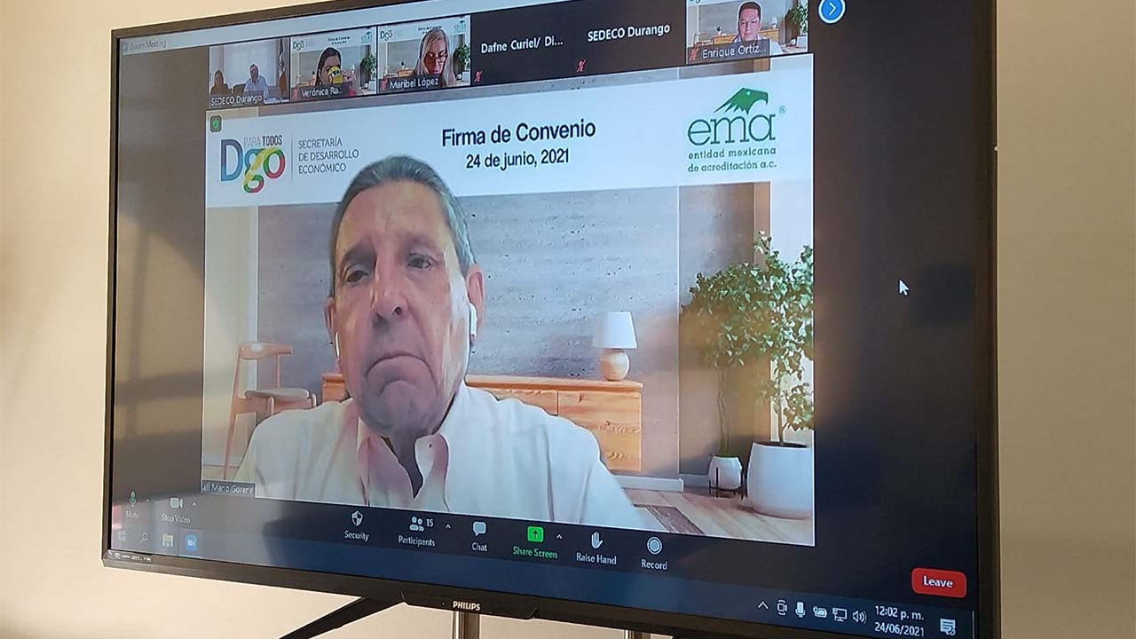EMA y Sedeco firman convenio para fortalecer infraestructura de la calidad en Durango