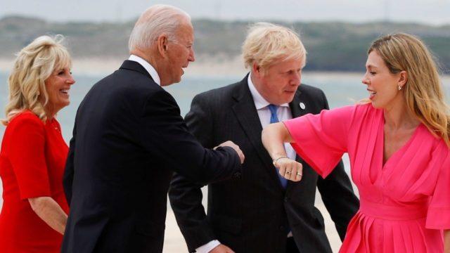 Reina Isabel organiza recepción para líderes del G7
