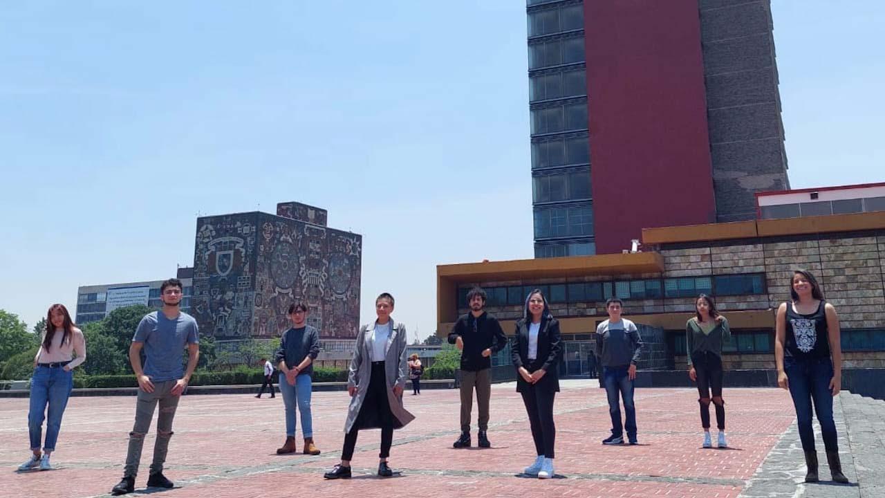 Estudiantes de la UNAM ganadores de concurso de física, listos para viajar a Alemania