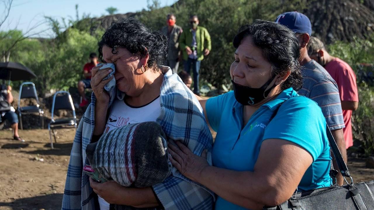Suman 3 mineros hallados sin vida tras derrumbe en Múzquiz
