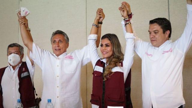 Menuel Negrete declina a favor de Evelyn Salgado en Guerrero