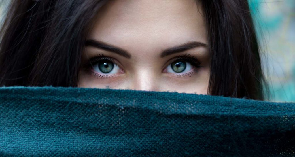 pestañas ojos