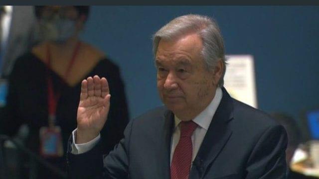 México felicita a Guterres por su reelección al frente de la ONU
